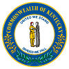 Seal of State Kentucky