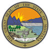 Seal of State Montana